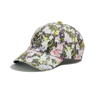 Biltmore, floral, Madewell, spring fashion, baseball cap