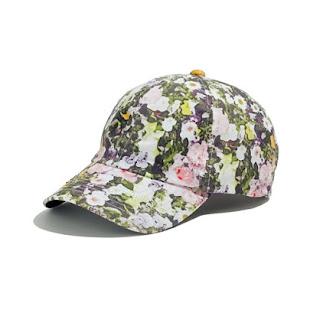Biltmore, floral, Madewell, spring fashion, baseball cap