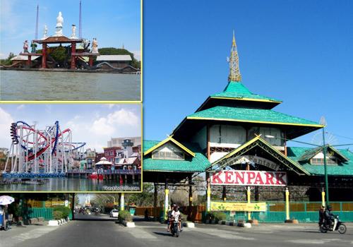 Objek Wisata Pantai Kenjeran Surabaya