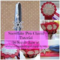 Snowflake Pen Charm Turorial
