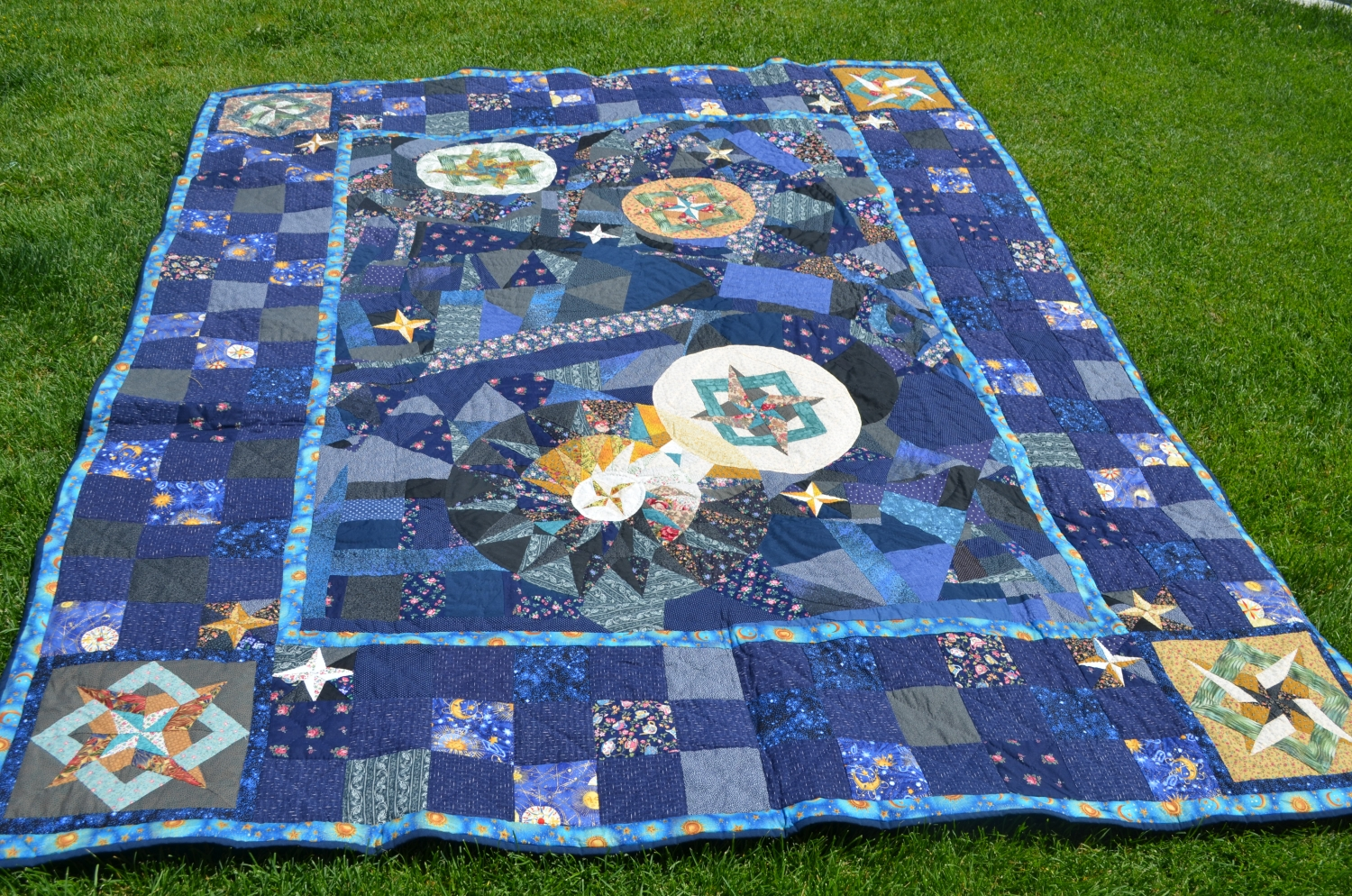 The McBride Sisters Never-ending Quilting Bee: Star Wars Quilt