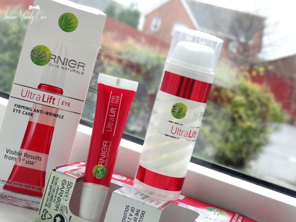 Indian Vanity Case Garnier UltraLift Serum Cream Amp Eye Care