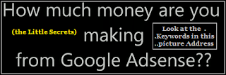 Adsense traffic increases by using keywords relevant to the context of the intention seo