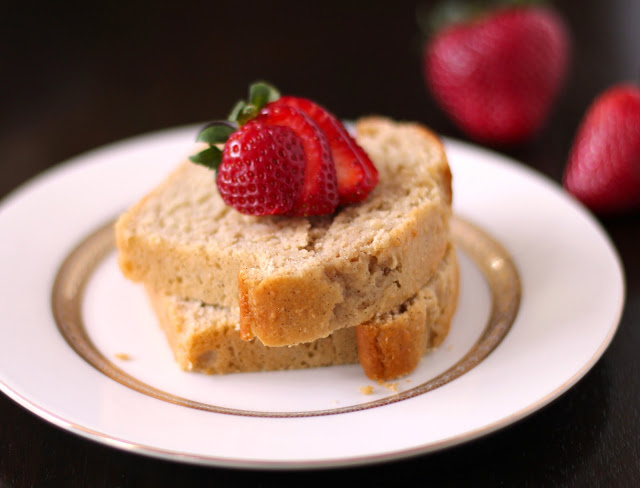 Healthy Vanilla Bean Pound Cake - Desserts with Benefits