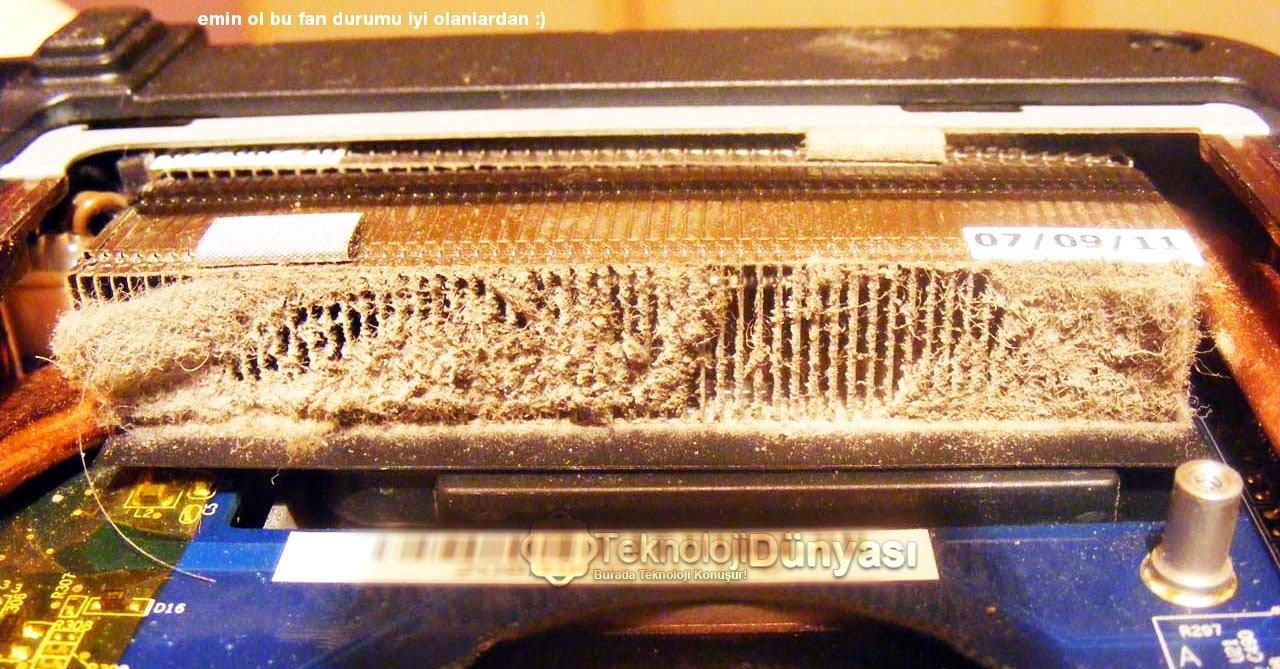 kirli fan fan temizleme bilgisayarım ısınıyor