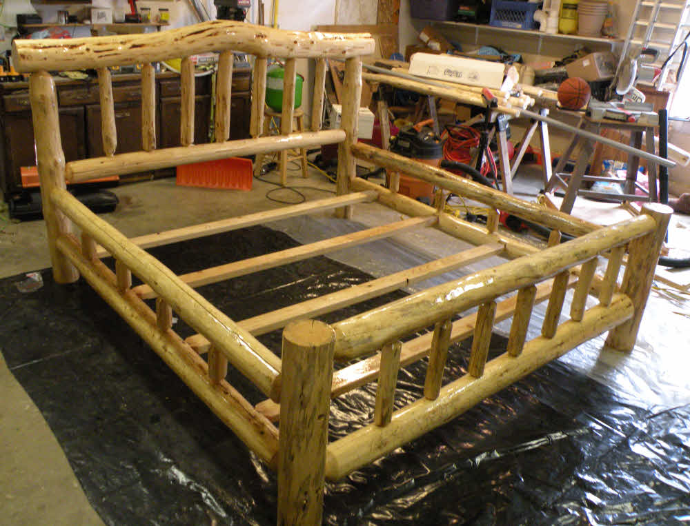 free log bed plans pdf woodworking