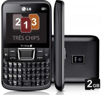 LG Tri Chip 333, Hp Dengan 3 Kartu Sekaligus
