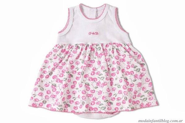 vestidos para niñas g de b primavera verano 2014