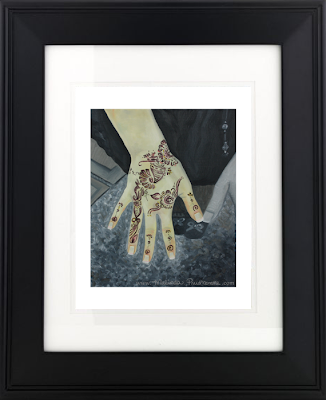 The Power In Women's Hands, Mixed Media Artist, Art Prints, Malinda Prudhomme, travel artist, beauty art, oil painting