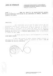 Certificado del CMAC sobre la Sección Sindical de CTA en Setex Aparki