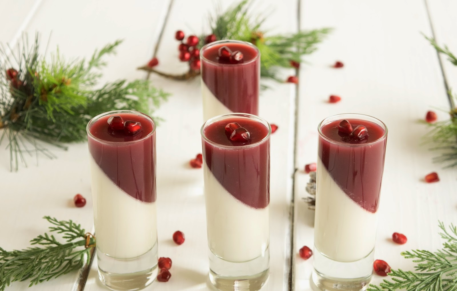 Pomegranate panna cotta & $25 Target gift card giveaway - Culinary ...