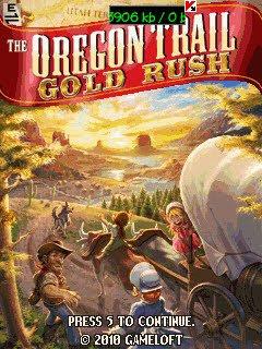Oregon Trail Gold Rush S40 2ed