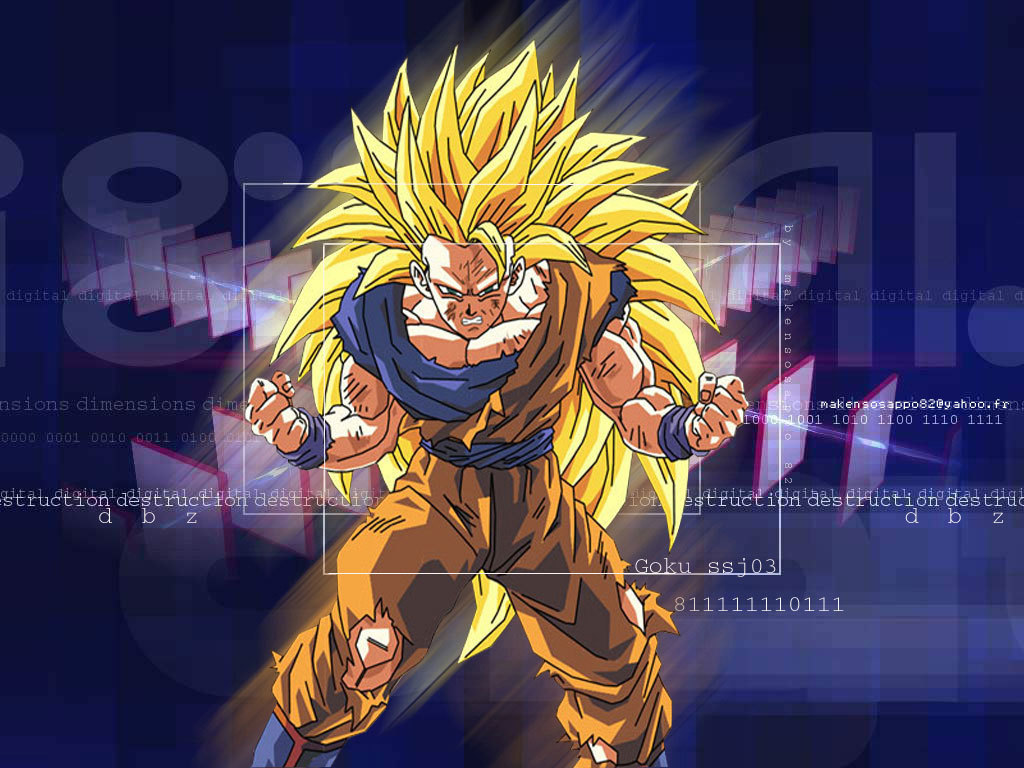 Dragon Ball Z Wallpaper: Goku Dragon Ball Z Goku Super Saiyan 6 Wallpapers