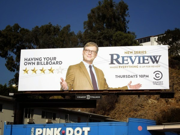 Review series premiere billboard