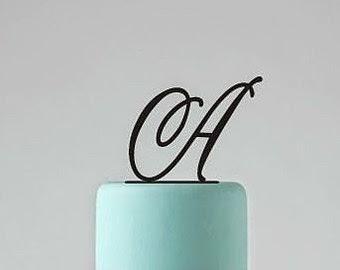 Letras, Pastel de Bodas
