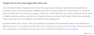 adsense with other ads