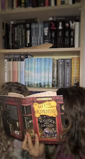 biblioteczka zaczytana joana