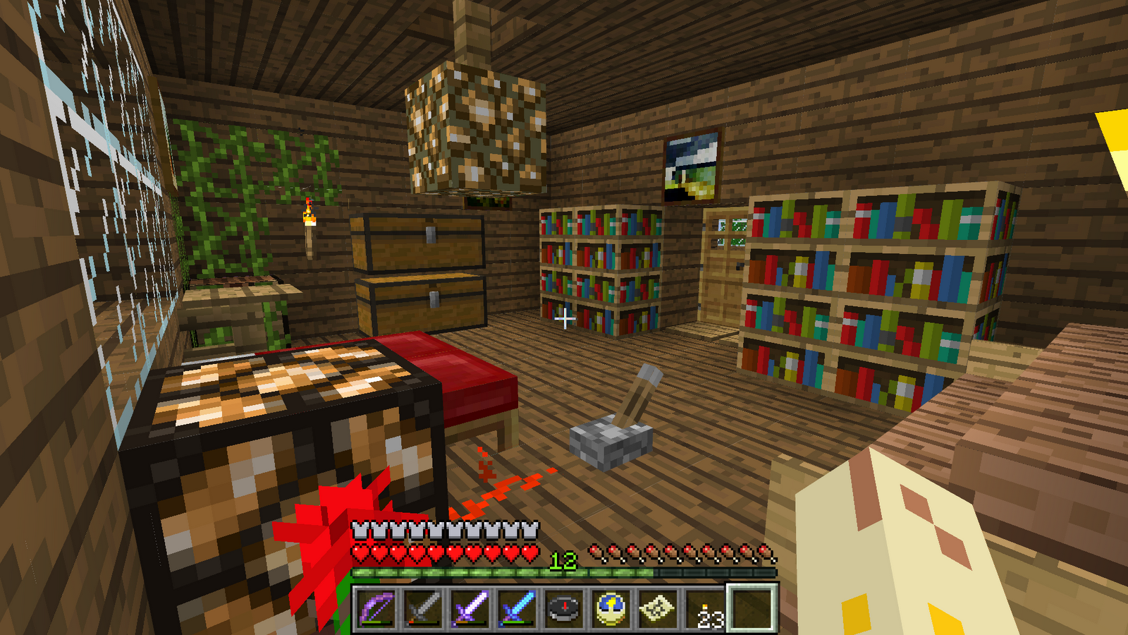How to make an awesome bedroom in minecraft 28 images for Bedroom designs minecraft