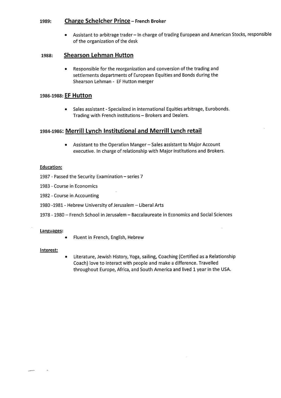 Additional Qualification In Resume Sample Essay On Urie