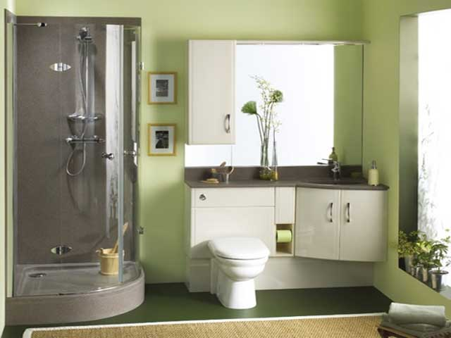 Bathroom designs for small spaces for Small full bathroom designs