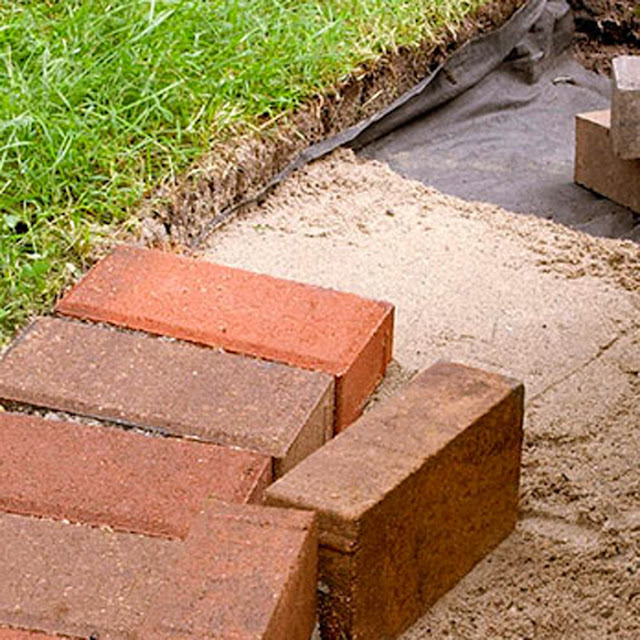 Landscaping Edging Ideas Brick : Brick box image garden edging