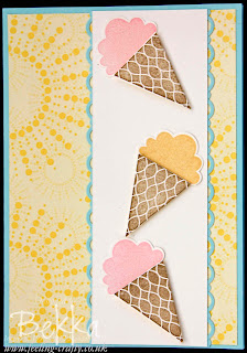 Create a Cupcake Ice Cream Card