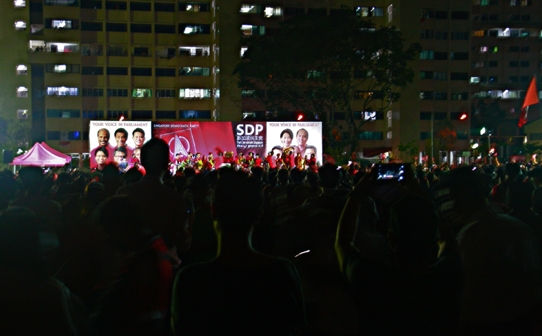 Singapore Democratic Party's last rally for General Elections 2015 #GE2015 09.09.2015