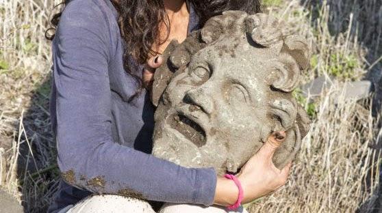 Βρέθηκε χάλκινη προσωπίδα του θεού Πάνα στο Ισραήλ