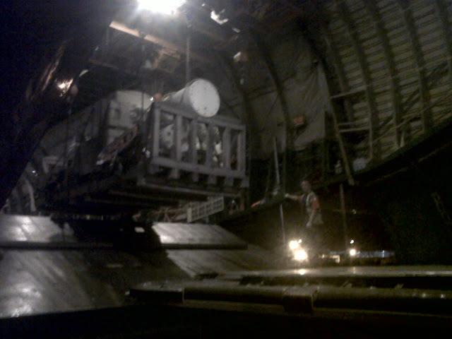 AN 124 being serviced by Bhadra International Cargo Team