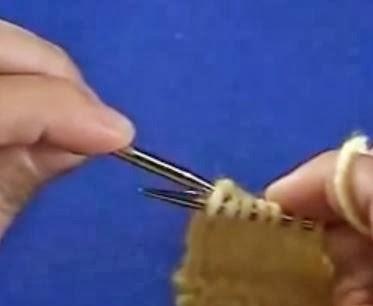 strikke baklengs