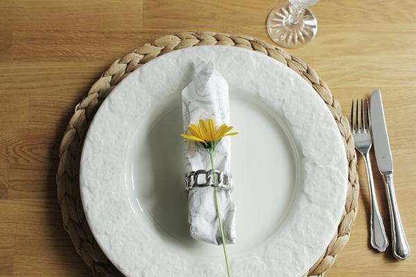 bordsdukning, dukning kalas