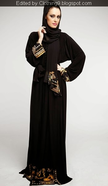 Embroidered Abaya Designs