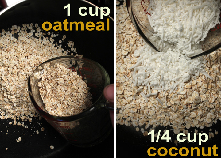 Half Cup Oatmeal Nuttician Old Fashioned