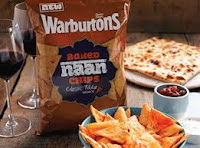 naan chips , warburtons naan chips , warburton s indian snacks