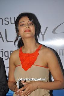 Shruti Hassan at Samsung Galaxy S3 launch