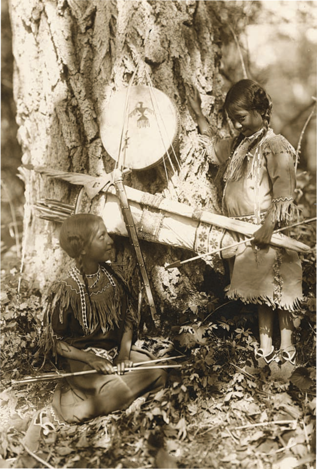Ojibwe Indian by Roland Reed