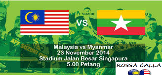 Malaysia Vs Myanmar Piala AFF Suzuki 2014