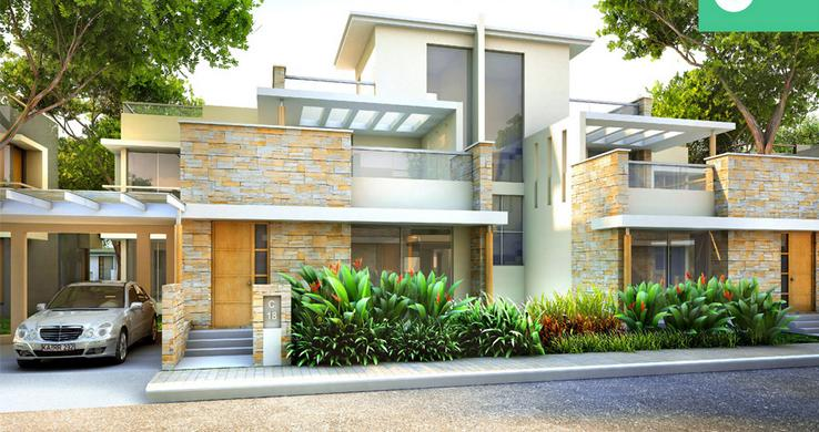 Awesome Home Design With Plans Villa homes plans in Bangalore