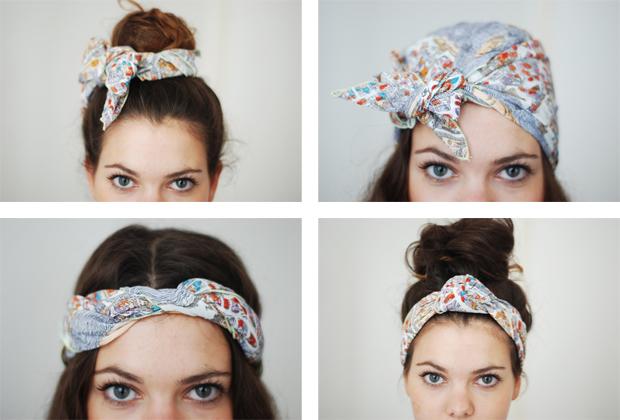 Bien connu Porter un foulard dans ses cheveux : my favourites - Juliette  ZU82
