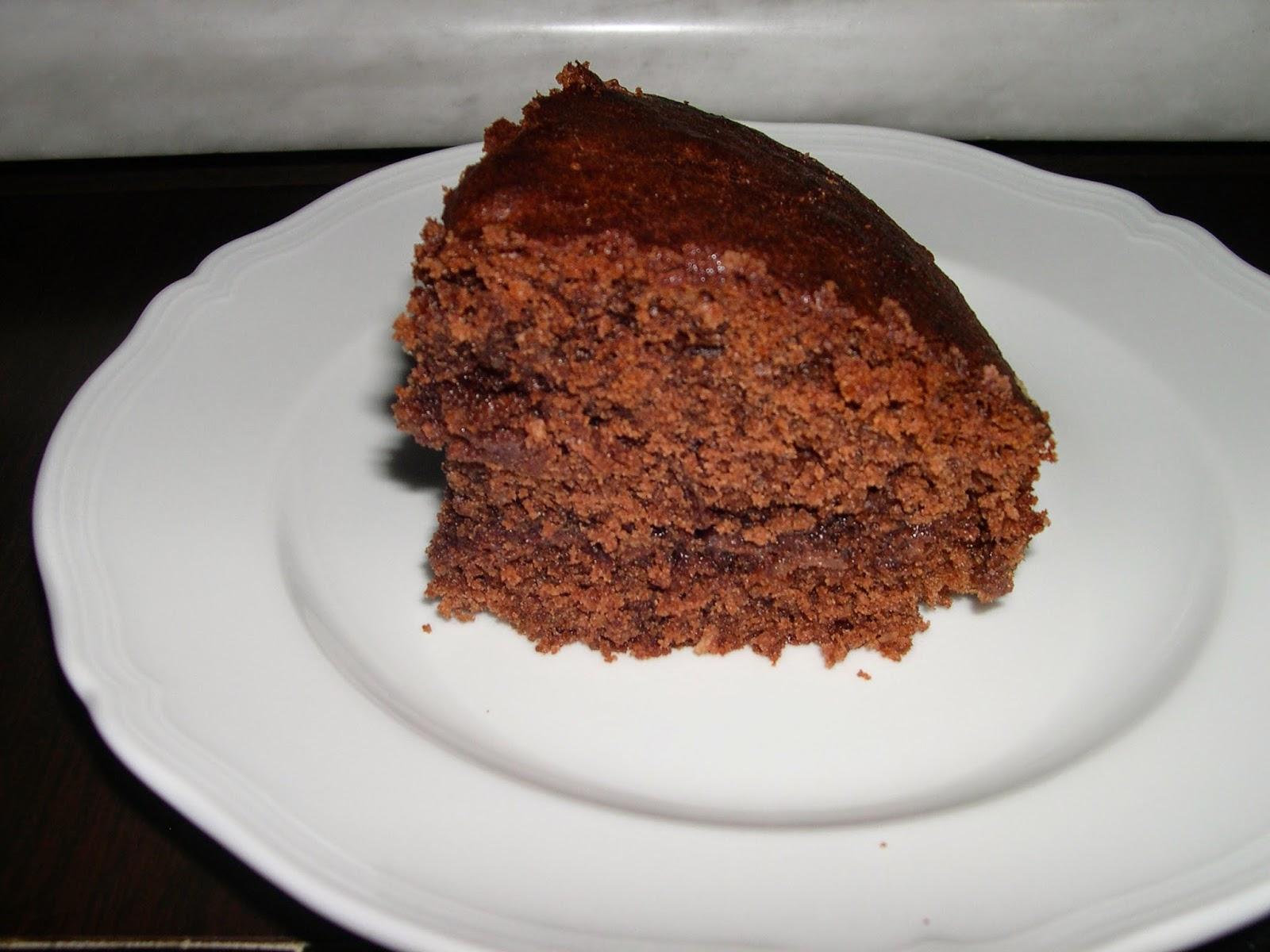 torta di yogurt al cocco e cioccolato