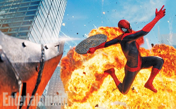 Villains In Action In New The Amazing Spider-Man 2 ... | 612 x 380 jpeg 76kB