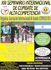 XIII Seminario Internacional de Combate de alta Competencia en Ica y Nasca