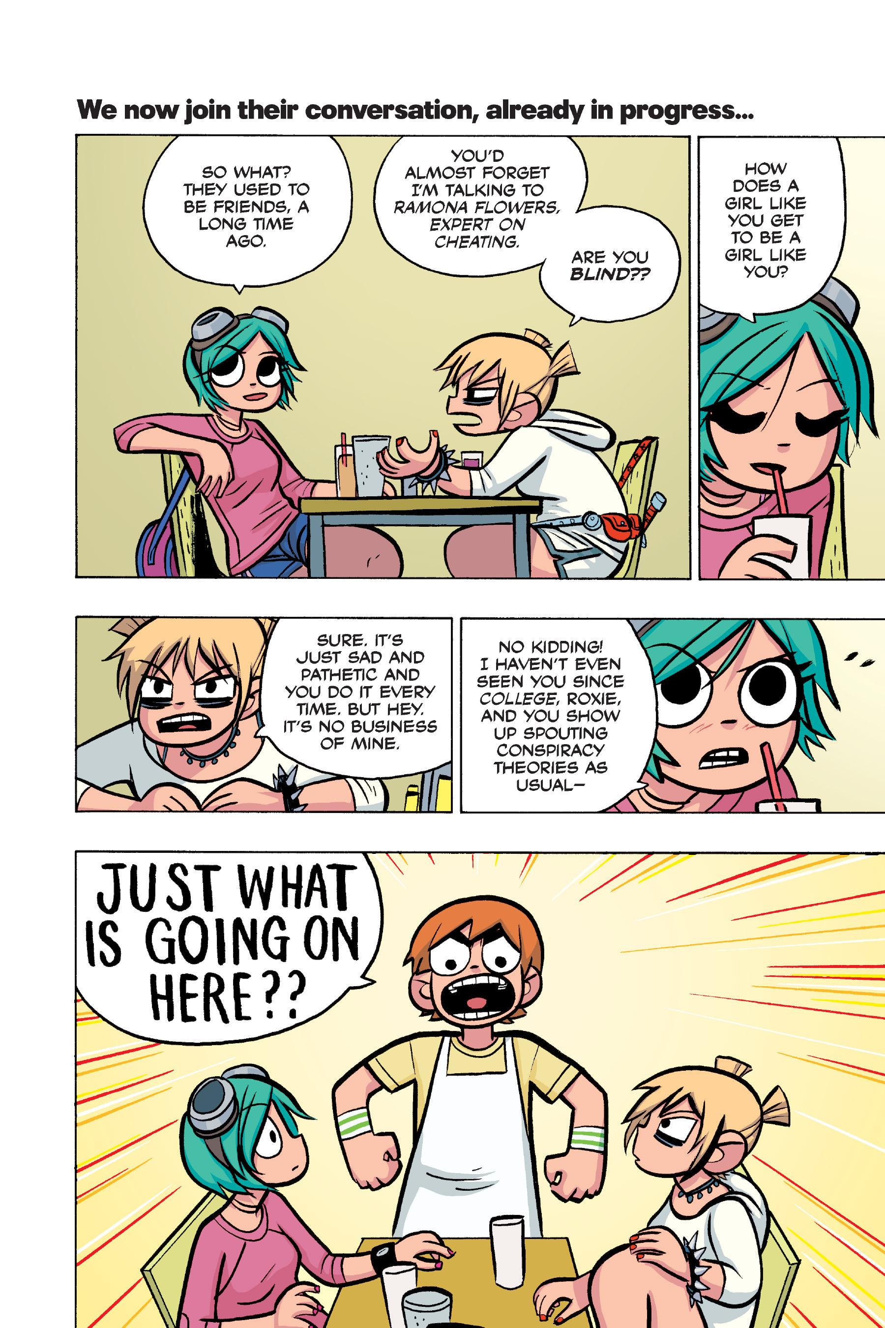 Read online Scott Pilgrim comic -  Issue #4 - 107