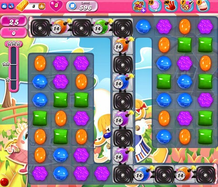 Candy Crush Saga 596
