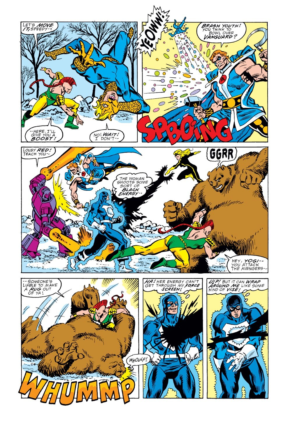 Captain America (1968) Issue #352 #284 - English 6