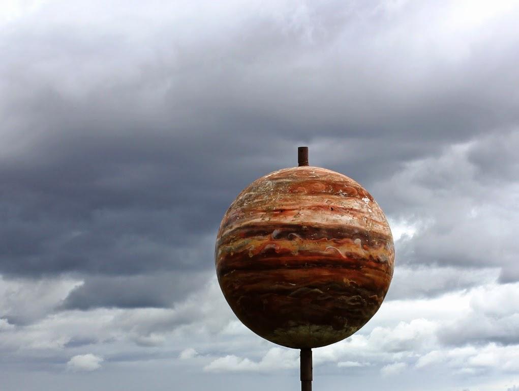 Maine solar system model Jupiter