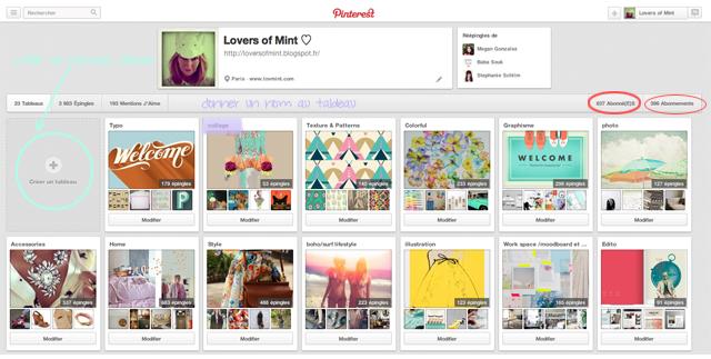 Pinterest Lovers of Mint