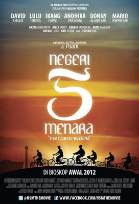 genre drama romansa jadwal rilis 16 februari 2012 5 negeri 5 menara