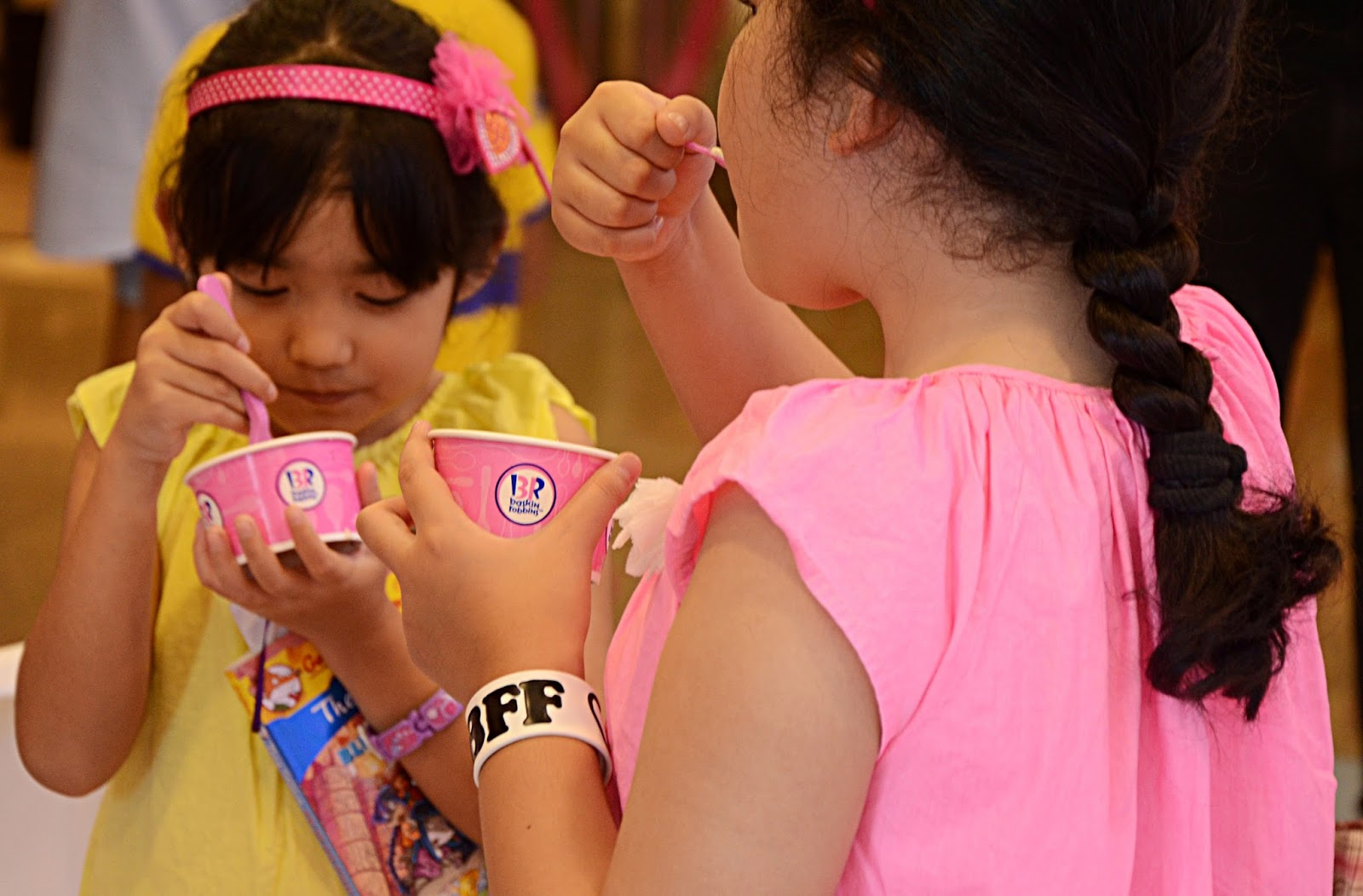 Let us help Baskin-Robbins bring smiles to the lives of 31 children