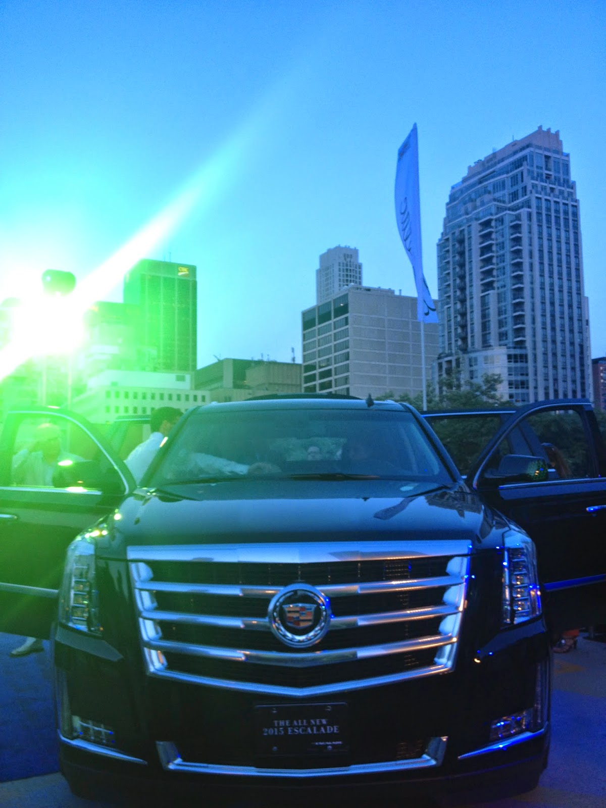 Reveal of the 2015 Cadillac Escalade